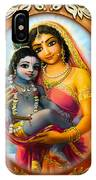 Yashoda And  Krishna 3 IPhone X Case