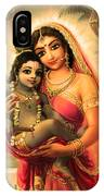 Yashoda And  Krishna 4 IPhone X Case