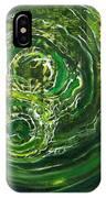 Yaweh El Shaddai Left Canvas Detail IPhone Case