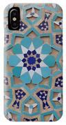Yazd - Blue Mosaic IPhone Case