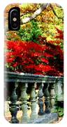 Ye Olde Garden Bench IPhone Case
