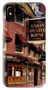 Ye Olde Union Oyster House IPhone Case