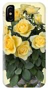 Yello Roses IPhone Case