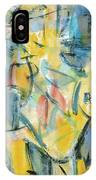 Yellow Abstraction IPhone Case