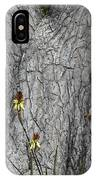 Yellow Aloe Flowers And Tree IPhone Case