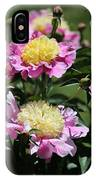 Yellow And Pink Peony IPhone Case