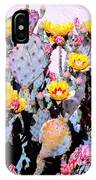 Yellow And Red Flower IPhone Case