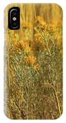 Yellow Autumn Blooming IPhone Case