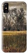 Yellow Barn And The Field IPhone Case