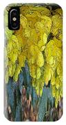 Yellow Buds IPhone Case