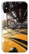 Yellow Cab IPhone Case
