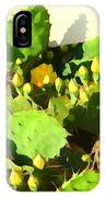Yellow Cactus Blossoms 594 IPhone Case