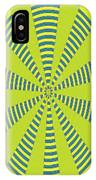 Yellow Cactus Spines Abstract IPhone Case