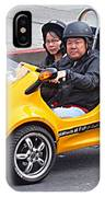 Yellow Car IPhone Case