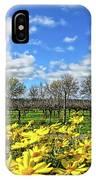 Yellow Carpet IPhone Case