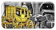 Yellow Carriage IPhone Case