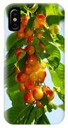 Yellow Cherries IPhone Case