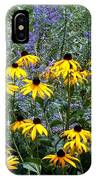 Yellow Daisies And Purple Sage IPhone Case