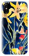 Yellow Daylilies IPhone Case