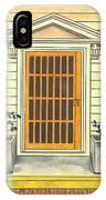 Yellow Door In Panama IPhone Case