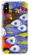 Yellow Fins IPhone Case
