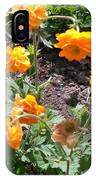 Yellow Flowers Bushes IPhone Case