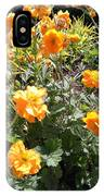 Yellow Flowers In May IPhone Case