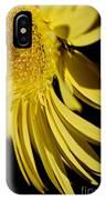 Yellow Gerbera Daisy By Kaye Menner IPhone Case
