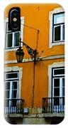 Yellow Italian Building IPhone Case
