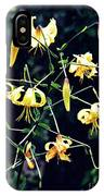 Yellow Lilies In Fort Tryon Park IPhone Case