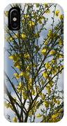 Yellow Little Flowers IPhone Case