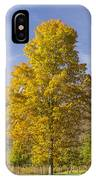 Yellow Maple Tree 1 IPhone Case