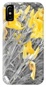 Yellow Moment In Time IPhone Case
