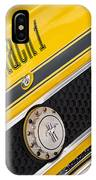 Yellow N Black IPhone Case