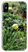 Yellow Peonia IPhone Case