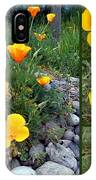 Yellow Poppies Collage  IPhone Case