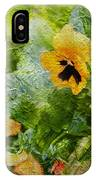 Yellow Pretty Little Flowers IPhone Case