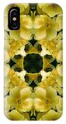 Yellow Primrose Kaleidoscope IPhone Case