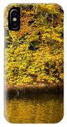 Yellow Reflection2 IPhone Case