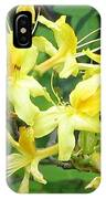 Yellow Rhododendron IPhone Case