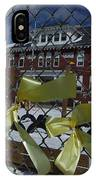 Yellow Ribbons At Groveton Elementary  IPhone Case