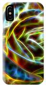 Yellow Rose Fractal IPhone Case