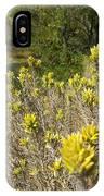 Yellow Sage Flower IPhone Case