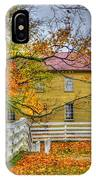 Yellow Shaker House 4 IPhone Case