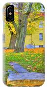 Yellow Shaker House Gate IPhone Case