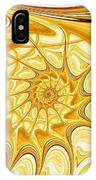 Yellow Shell IPhone Case