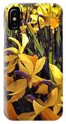 Yellow Spring Daffodils IPhone Case