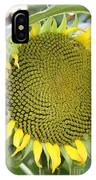 Yellow Sunflower IPhone Case