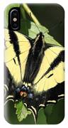 Yellow Swallow Tail Butterfly IPhone Case