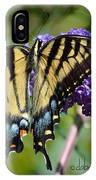 Yellow Swallowtail Butterfly Two IPhone Case